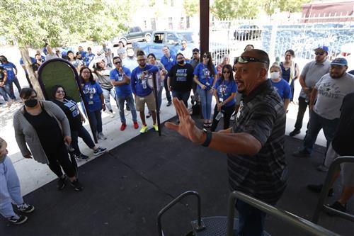 Bowie High teachers start year with tour of Segundo Barrio