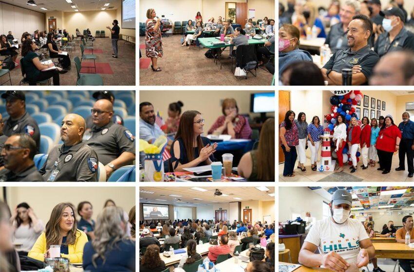 Socorro ISD teachers, staff learn, collaborate, prepare via trainings for 2021-22 school year