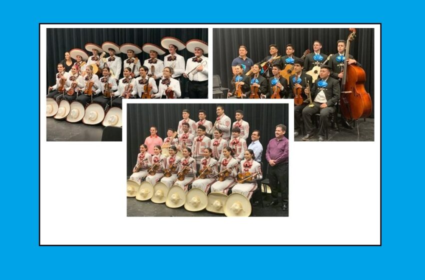 Three SISD mariachi groups compete at state; Socorro's Los Gavilanes earns highest rating possible