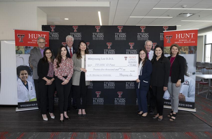 Local Dentist gives $25K for Dental Student Scholarships