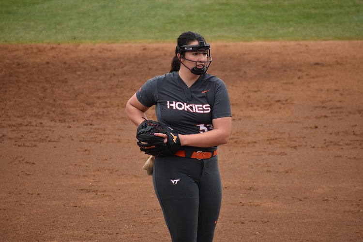 Kaylee Rae Hewitt, born in Clovis, NM, is the daughter of Chad and Amanda Hewitt She has four brothers, Kyle, Cade, Duce and Kasen has one sister, Kodi. |  Photo courtesy Virginia Tech Athletics