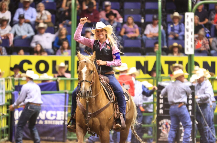 NMSU rodeo team competes in college national finals