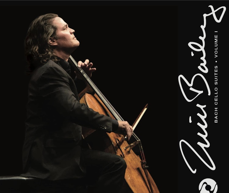 Landmark recording by world-renowned cellist Bailey features an all-new interpretation of Bach's cello suites in stereo and multichannel sound