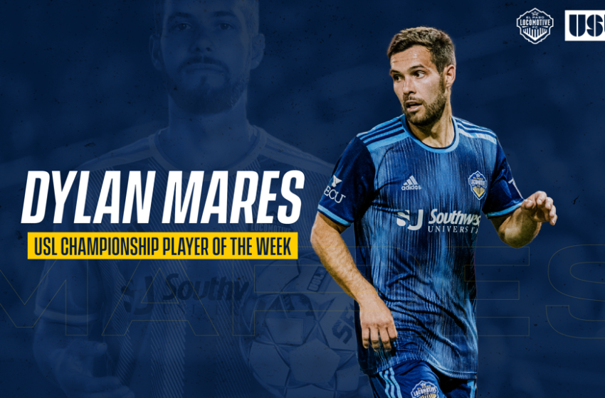 Dylan Mares scores AGAIN! Named USL Player of the Week