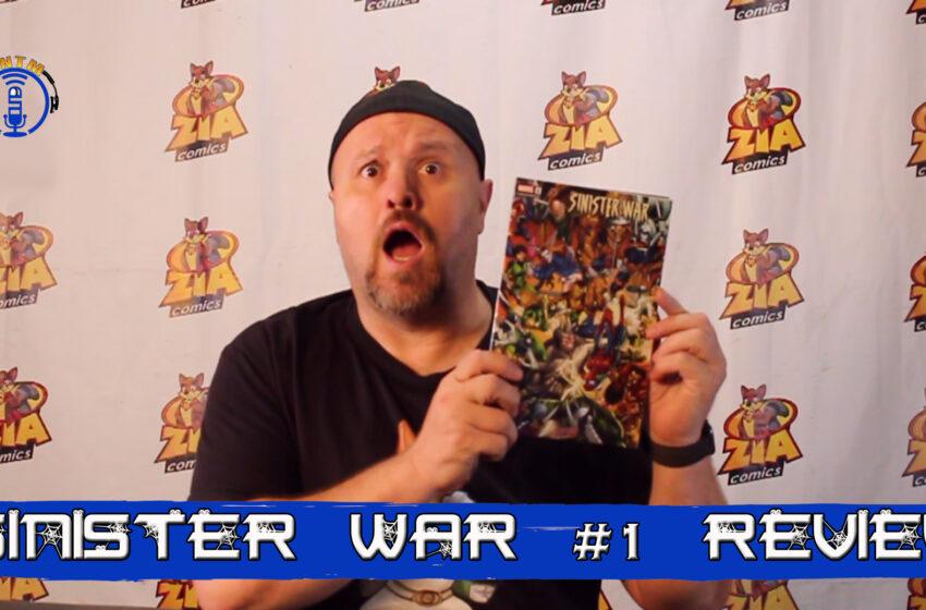 VLog: TNTM's Troy reviews Marvel Comics Sinister War #1