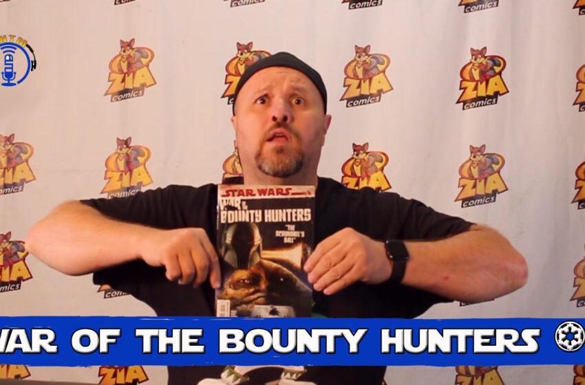 VLog: TNTM's Troy reviews Marvel Comics Star Wars – War of the Bounty Hunters