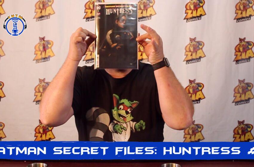 VLog: TNTM's Troy reviews DC Comics Batman Secret Files: Huntress #1