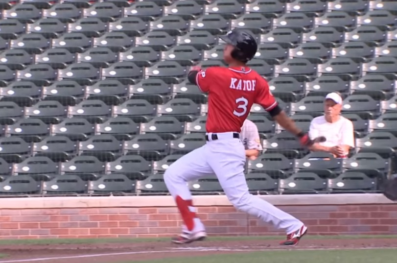 FILE: Gosuke Katoh's three-run tiebreaking home run in the eighth helped the Dogs secure the victory. | Clip courtesy EP Chihuahuas
