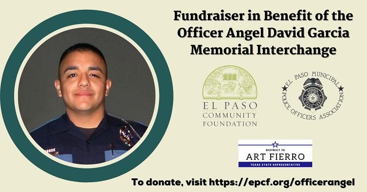 "Fundraiser to Benefit ""Officer Angel David Garcia Memorial Interchange"""