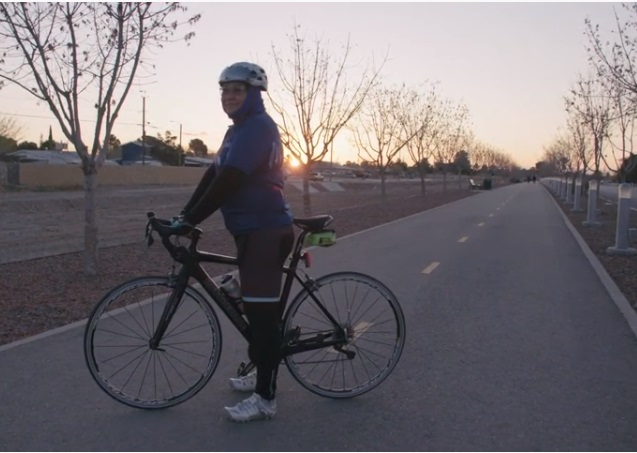 Paso del Norte trail at daybreak  | Clip courtesy TxN
