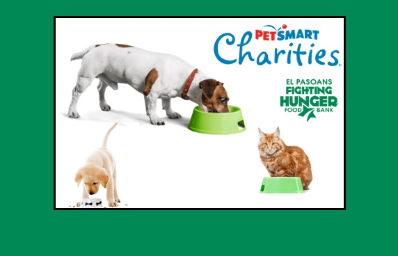 El Pasoans Fighting Hunger receives Pet Food Donations from PetSmart Charities
