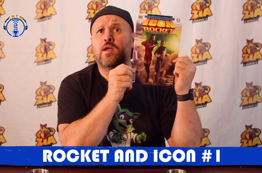 VLog: TNTM's Troy reviews DC Comics Milestone Returns: Rocket and Icon #1