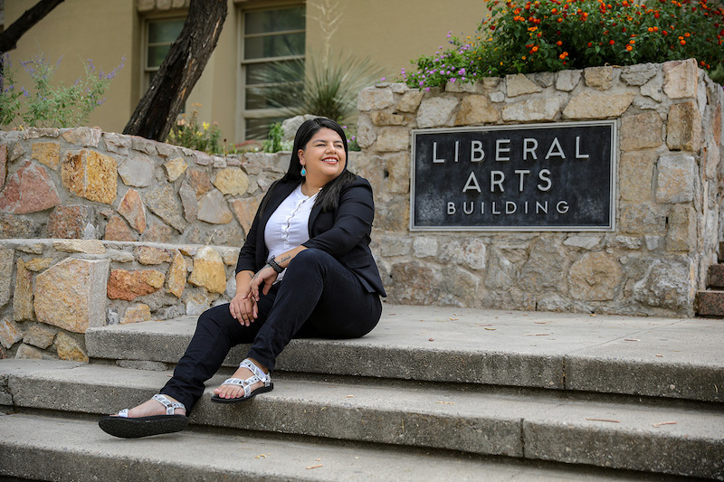 UTEP Ph.D. Student earns Social Justice Fellowship from The Memorial Foundation