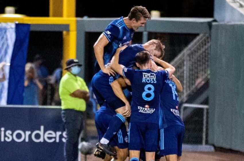 Blue Streak! Locomotive crush Austin Bold 3-0; Home unbeaten streak now at 18 matches