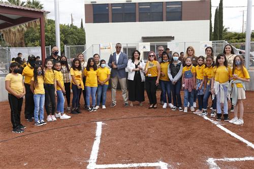 Austin High School opens new softball field at Memorial Park