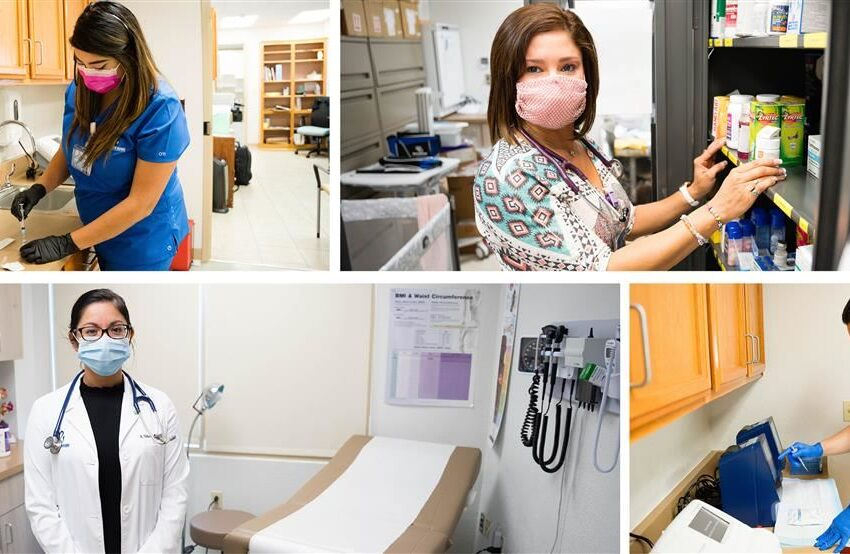 Socorro ISD's Employee Health Clinic continues to treat employees; helps with health, wellness goals