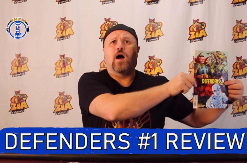 VLog: TNTM's Troy reviews Marvel Comics Defenders #1