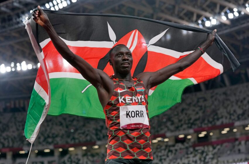 Former Miner Track & Field star Emmanuel Korir grabs Olympic Gold in 800m