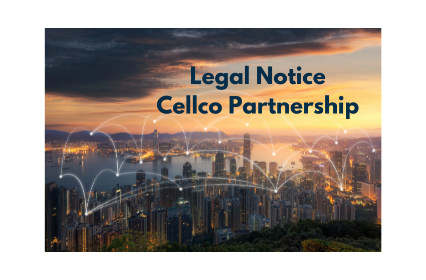 Legal Notice Cellco Partnership
