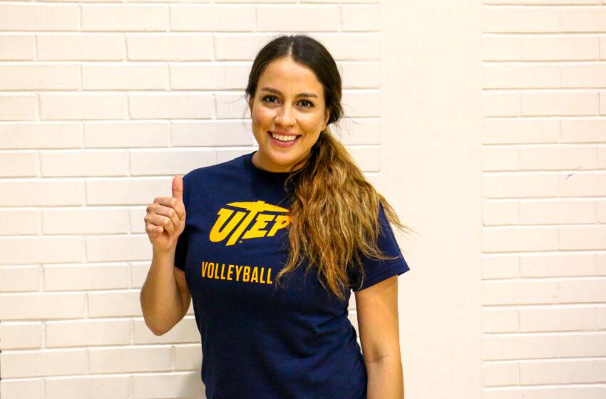 Former Miner Stephanie Sierra joins UTEP Volleyball Coaching Staff