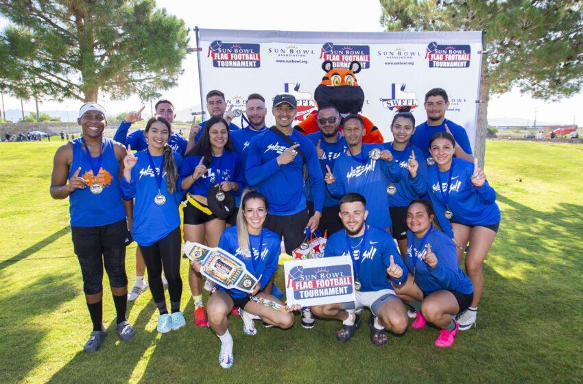 Sun Bowl crowns 5 new champions via 1st ever flag football tourney