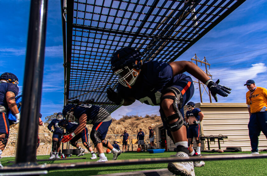 UTEP To Rely On Experienced Offensive Line In 2021