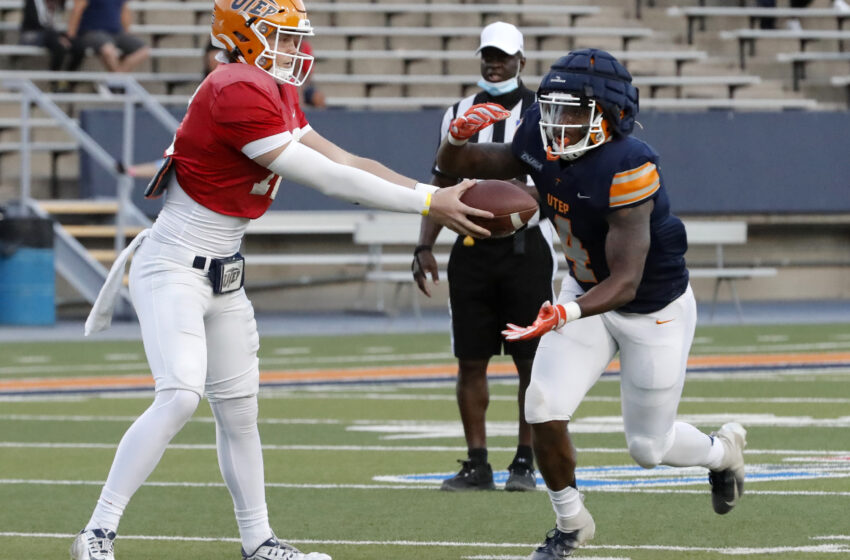 Miners Running Backs provide depth, experience
