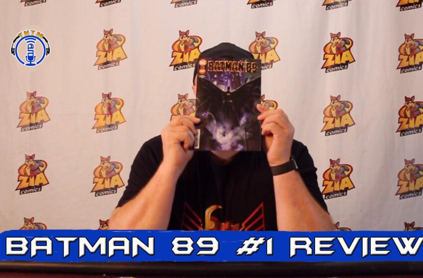 VLog: TNTM's Troy reviews DC Comics Batman 89 #1