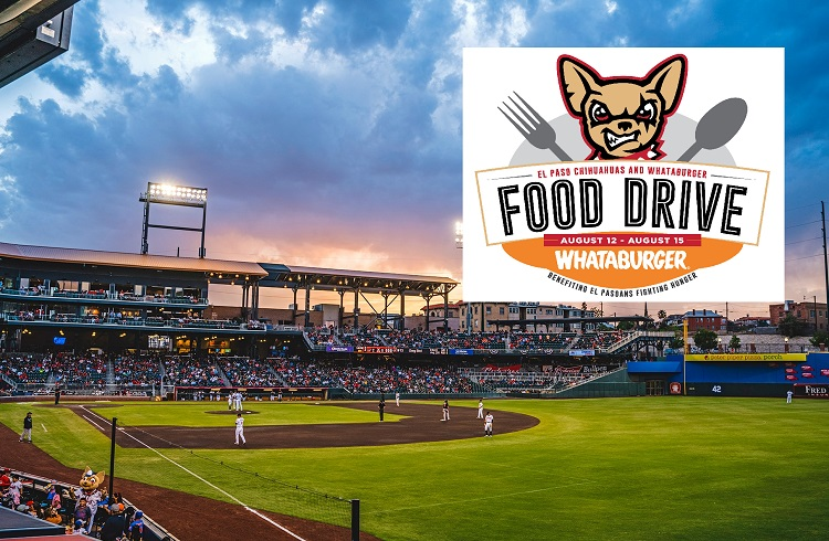 Chihuahuas, Whataburger to host Food Drive for El Pasoans Fighting Hunger Food Bank