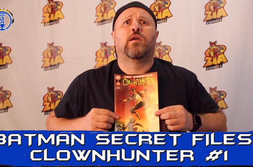 VLog: TNTM's Troy reviews DC Comics Batman Secret Files: Clownhunter #1