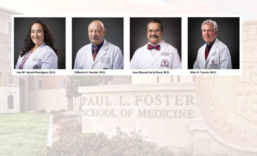 TTUHSC El Paso Faculty begin new terms in Texas Medical Association Leadership Positions