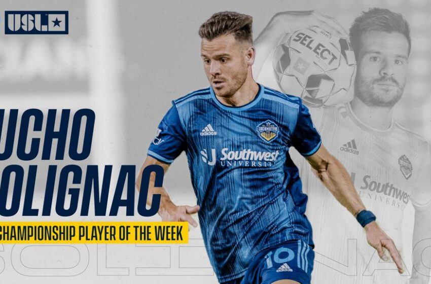 Lucho Rules! Solignac named USL Player of the Week once again; Third Loco to earn honor