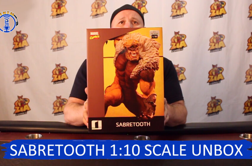 VLog: TNTM's Troy reviews, unboxes Iron Studios Sabretooth 1:10 scale
