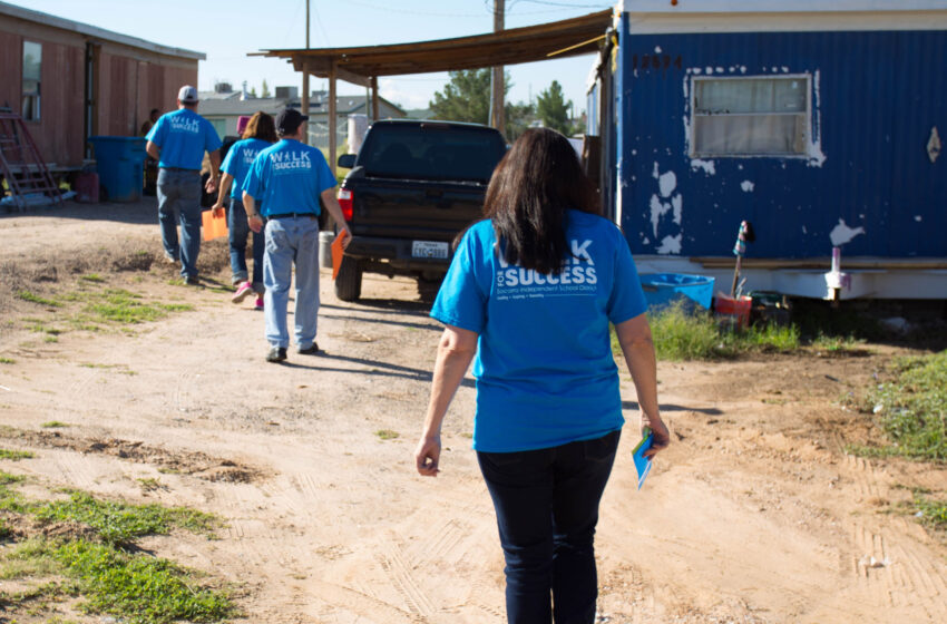 Socorro ISD counselors, administrators set to call students back to school in Annual Walk for Success event