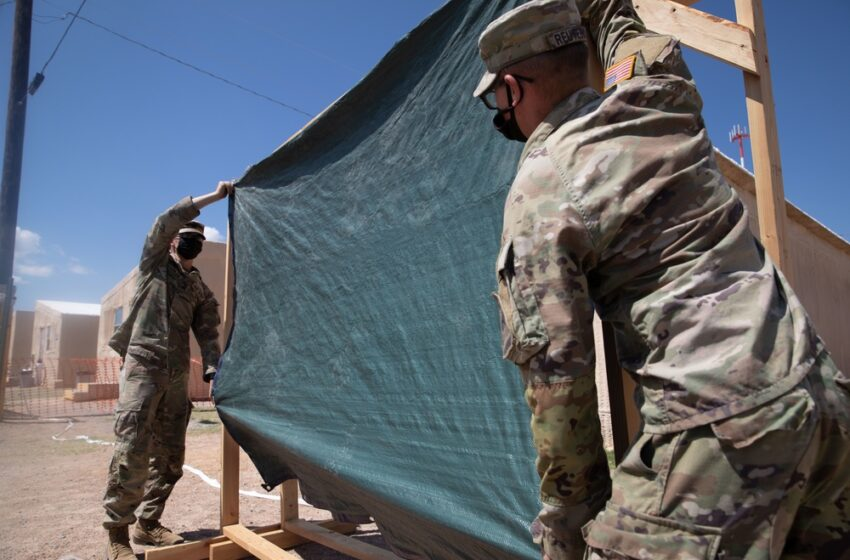 Soldiers work to improve quality of life for Afghan evacuees