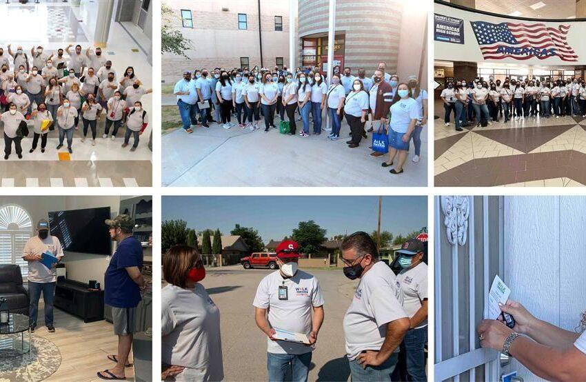 Socorro ISD family united via 2021 'Walk for Success'