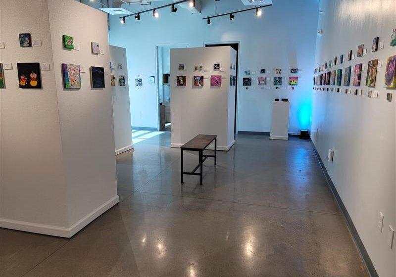 New El Paso ISD Fine Arts Gallery opens with Alice in Wonderland inspired exhibit