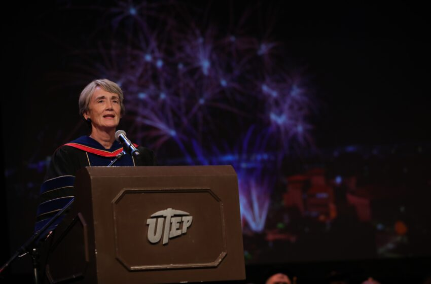 UTEP President Wilson outlines university successes in annual State of the University Address
