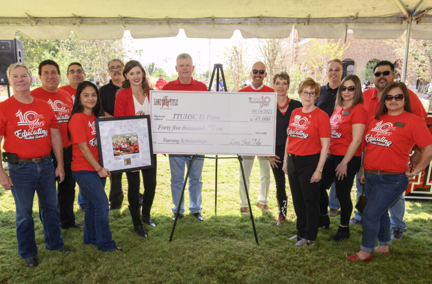TTUHSC El Paso hosts Welcome Back Barbecue for 10-Year Anniversary Celebration of Hunt School of Nursing