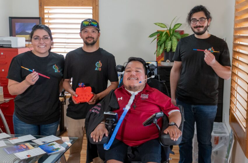At NMSU, Drive, compassion and innovation paint a beautiful picture