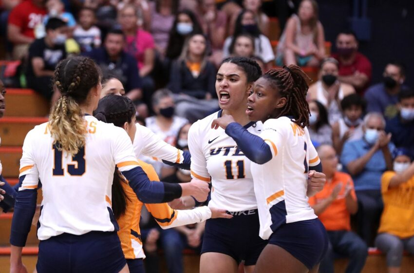 History! UTEP Volleyball squad off to best start ever after win over UTRGV