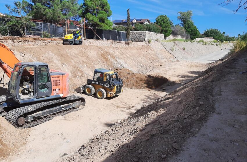 EP Water Crews tackle emergency stormwater projects