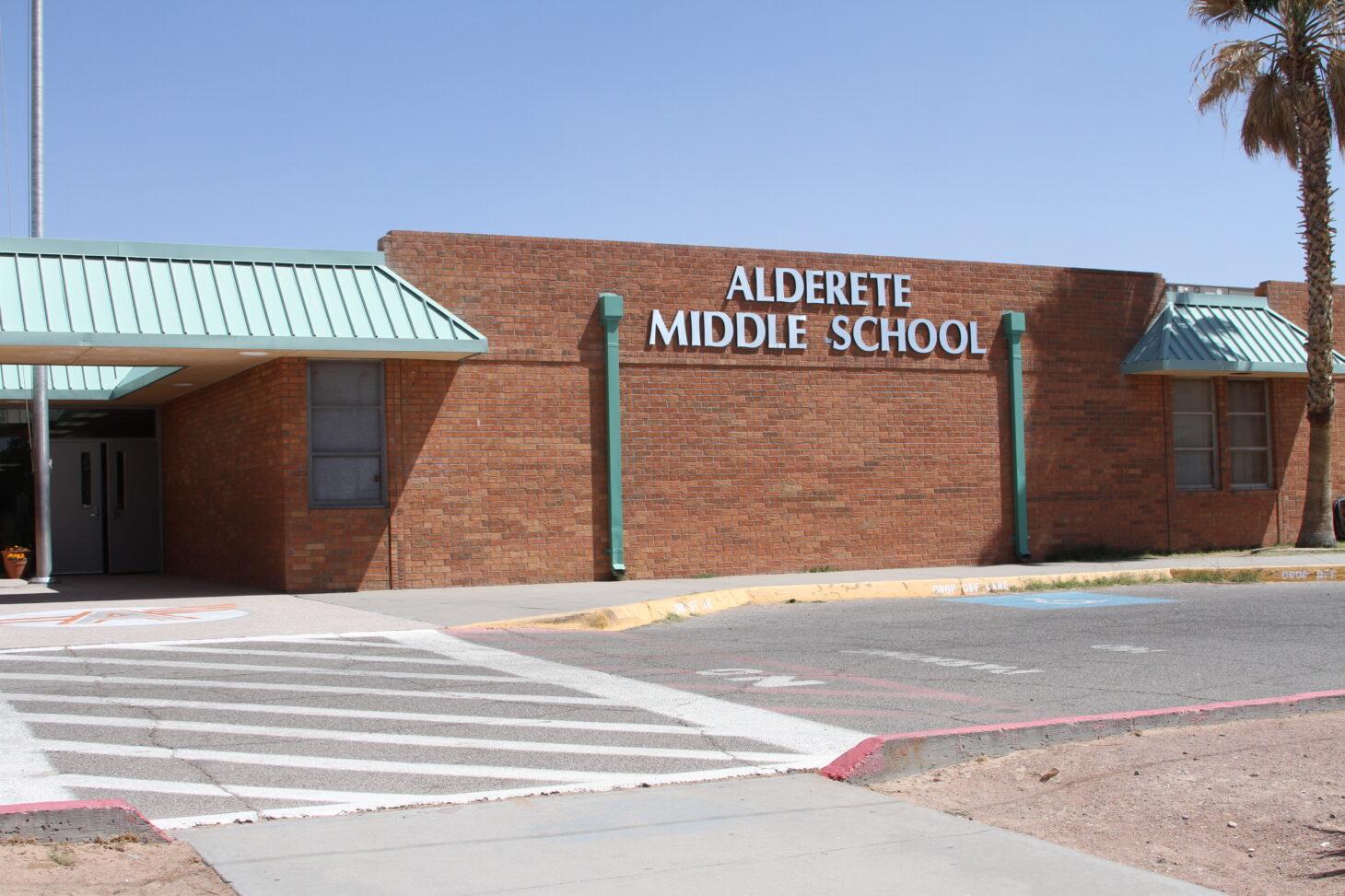 Alderete Middle School exterior