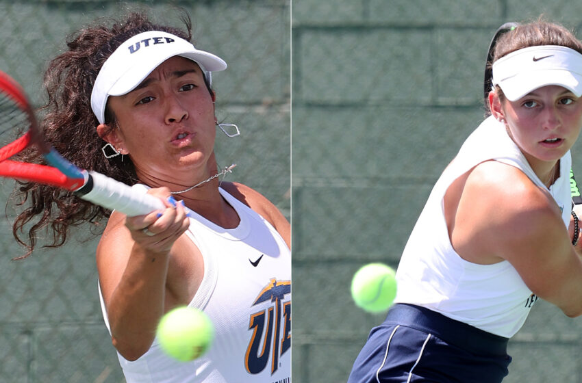 Bonilla, Schmitz shine For UTEP Tennis on Day One of NM State Aggie Invite