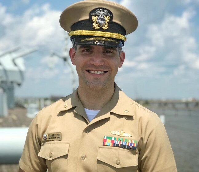 El Paso Native promoted to U.S. Navy Lieutenant Commander serving aboard PCU Frank E. Peterson, Jr.