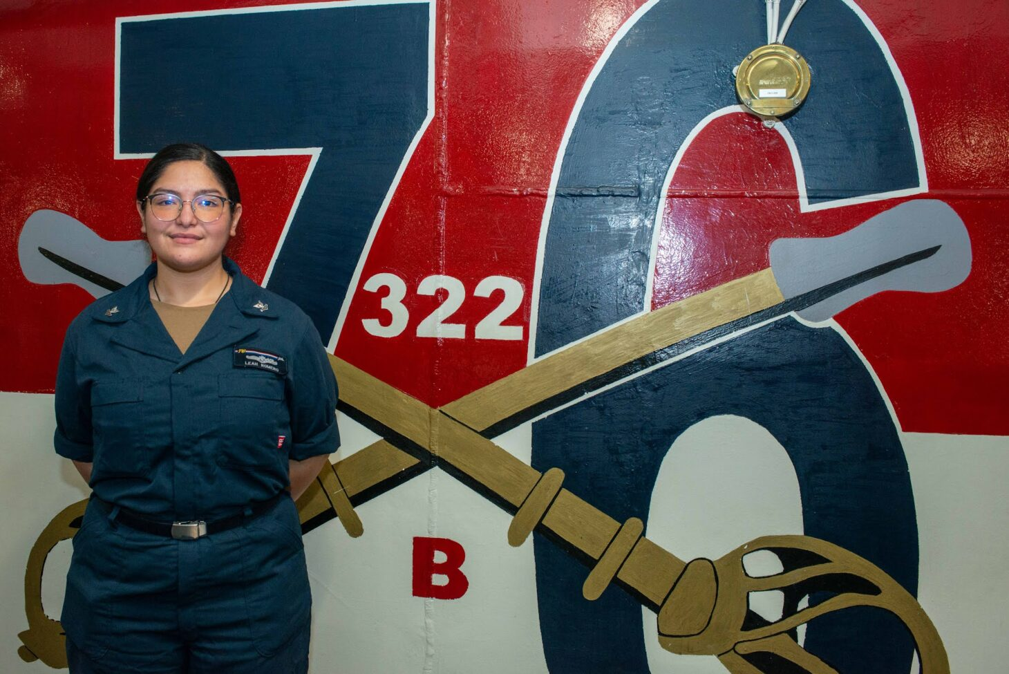Petty Officer 2nd Class Leah Romero
