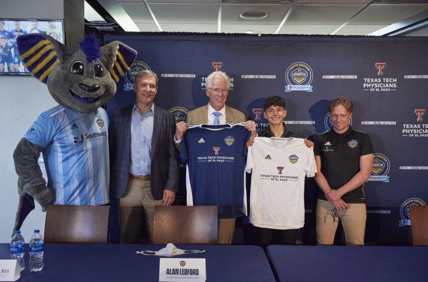 El Paso Locomotive Youth Soccer Club announces partnership with Texas Tech Physicians of El Paso