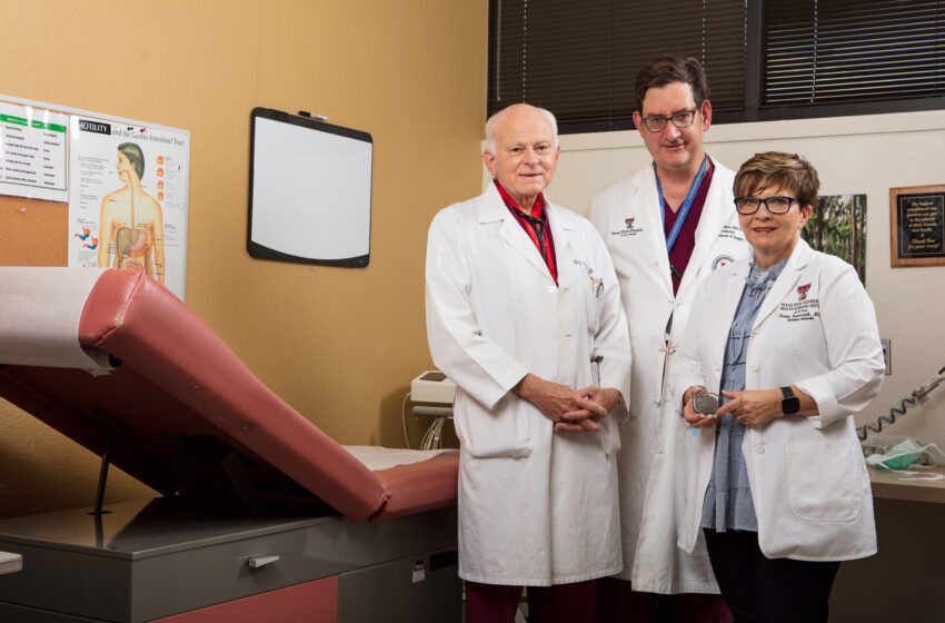 Following 4-Year Clinical Trial, TTUHSC El Paso faculty unveil breakthrough treatment for Stomach Paralysis
