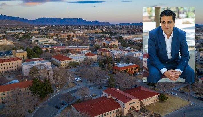 Jagdish Khubchandani, public health sciences professor at New Mexico State University, co-authored a new study that examines how COVID-19 infections in social circles may influence vaccine willingness.  |   NMSU photo by Josh Bachman