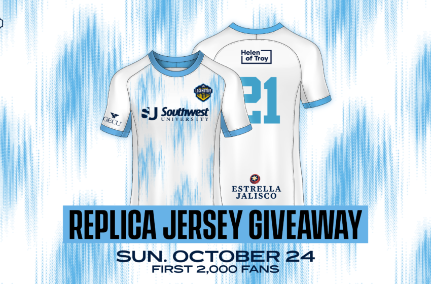 Locomotive announces replica White Jersey Giveaway